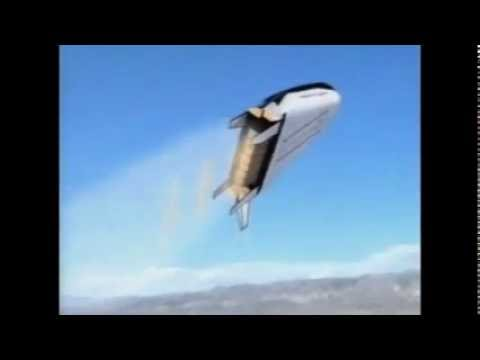 X-33 VentureStar Single Stage to Orbit Spacecraft NASA Launch Animation