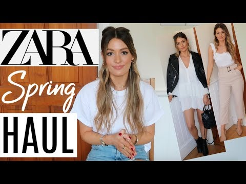 HUGE ZARA HAUL UNBOXING AND TRY ON - NEW IN SPRING | MARCH 2019