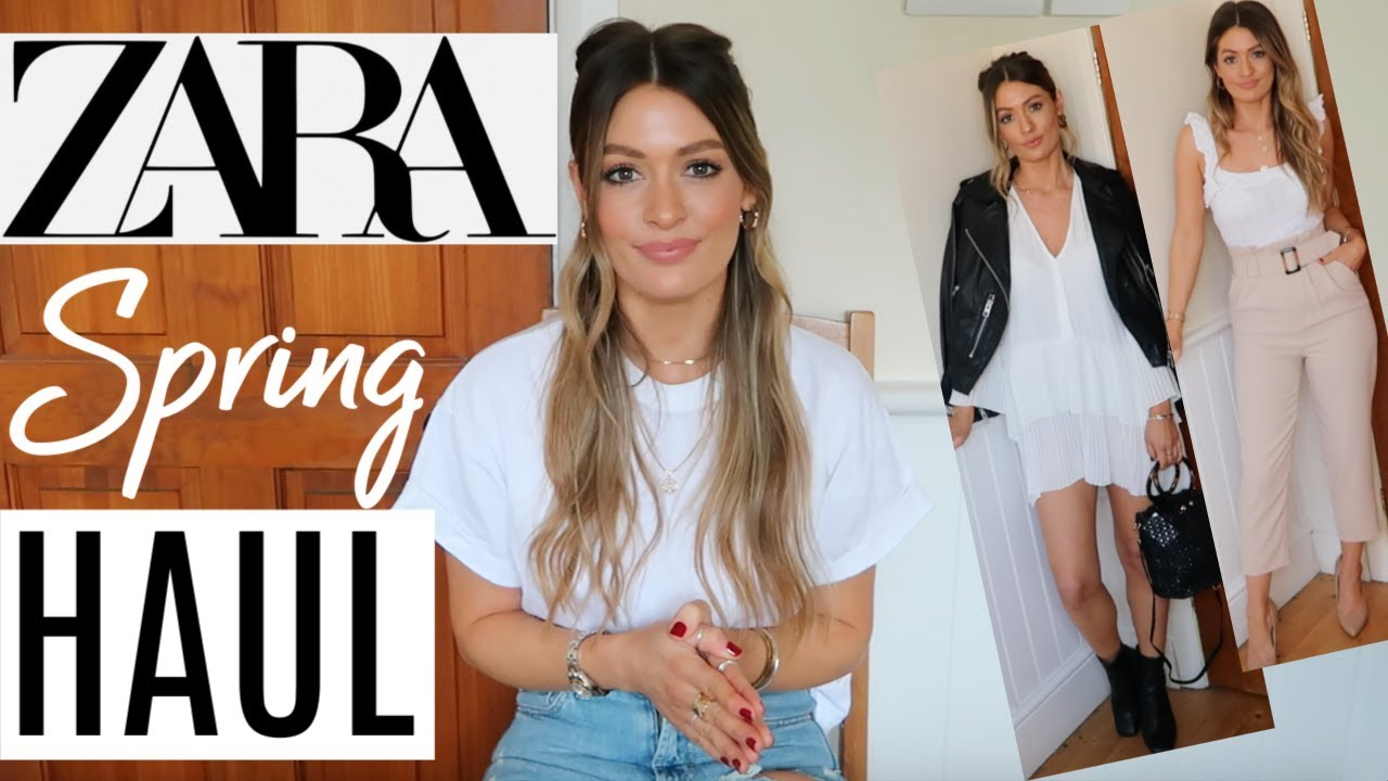 [VIDEO] - HUGE ZARA HAUL UNBOXING AND TRY ON - NEW IN SPRING | MARCH 2019 5