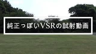 【サバゲ】純正っぽいVSRの試射動画【面白くもない動画編】