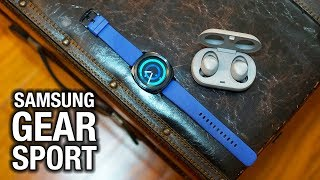 5 cool things about the Samsung Gear Sport / IconX 2018