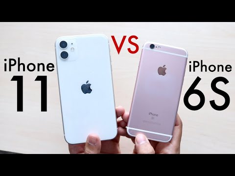 iPhone 11 Vs iPhone 6S! (Should You Upgrade?) (Comparison) (Review)