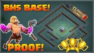 Best builders hall 5 (BH5) base! *PROOOF* | Clash Of Clans | *Undefeated*