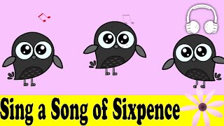 Sing a Song of Sixpence | Family Sing Along - Muffin Songs