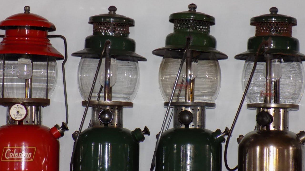 Military Coleman Lanterns