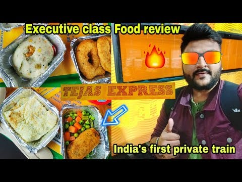 Tejas Express Executive Class Food Review || Lucknow to New Delhi || Indian Railways ||