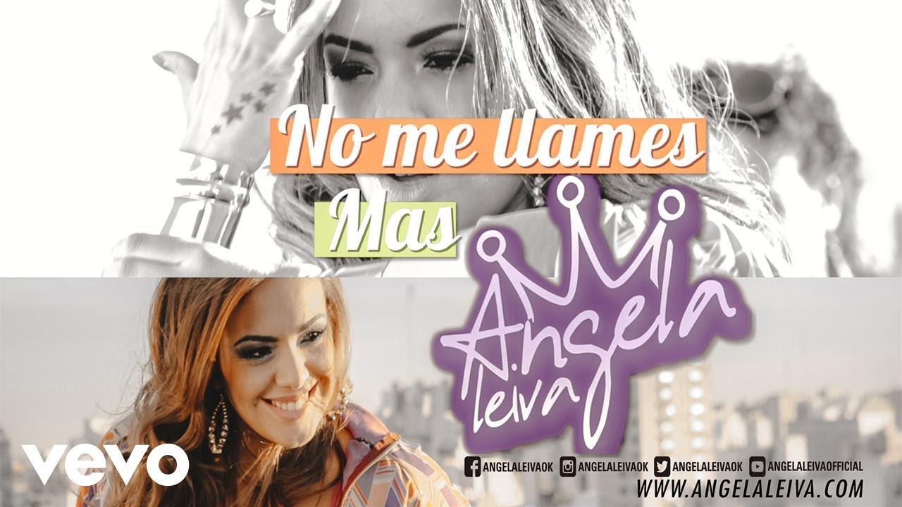 Angela Leiva - 'No Me Llames Más' (Video Lyric)