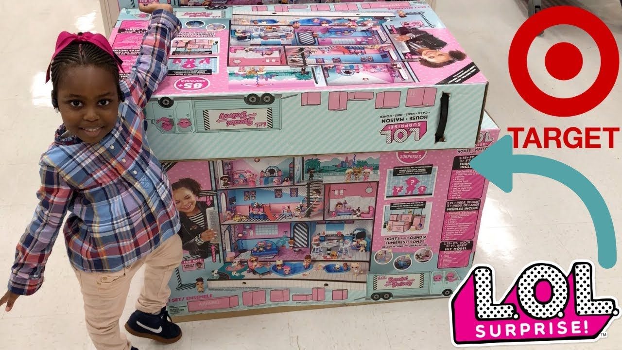 Target Toy Hunt Lol Surprise Doll House Youtube