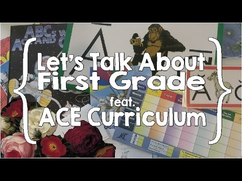 Let's Talk About First Grade with ACE Curriculum