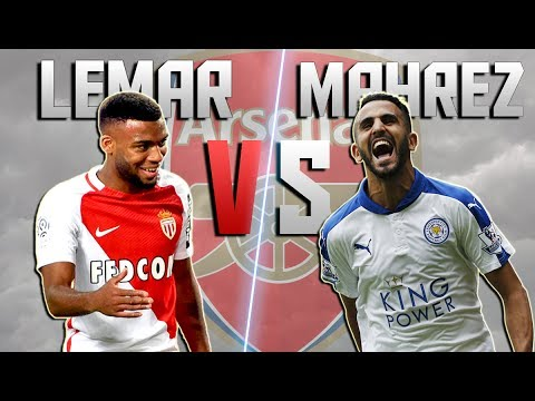Thomas Lemar vs Riyad Mahrez ► Unstoppable ● Goals & Skills