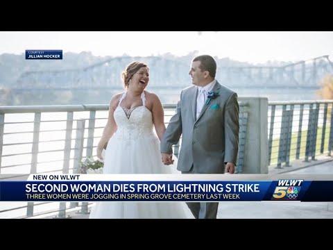 Two joggers killed by lightning strike in Cincinnati
