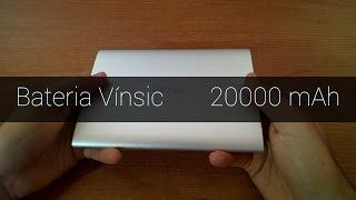 Review batería externa Vínsic 20000 mAh