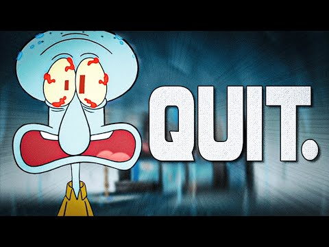 Why Doesn't Squidward Quit At This Point?