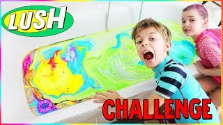 LUSH Badebomben Challenge 🛀 ALLE Badebomben auf einmal! Lulu & Leon - Family and Fun