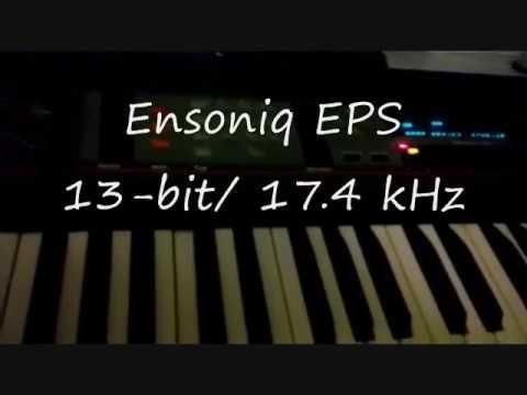 Akai MPC 1000 And Ensoniq EPS Sample Rate Demo (Drum Break)