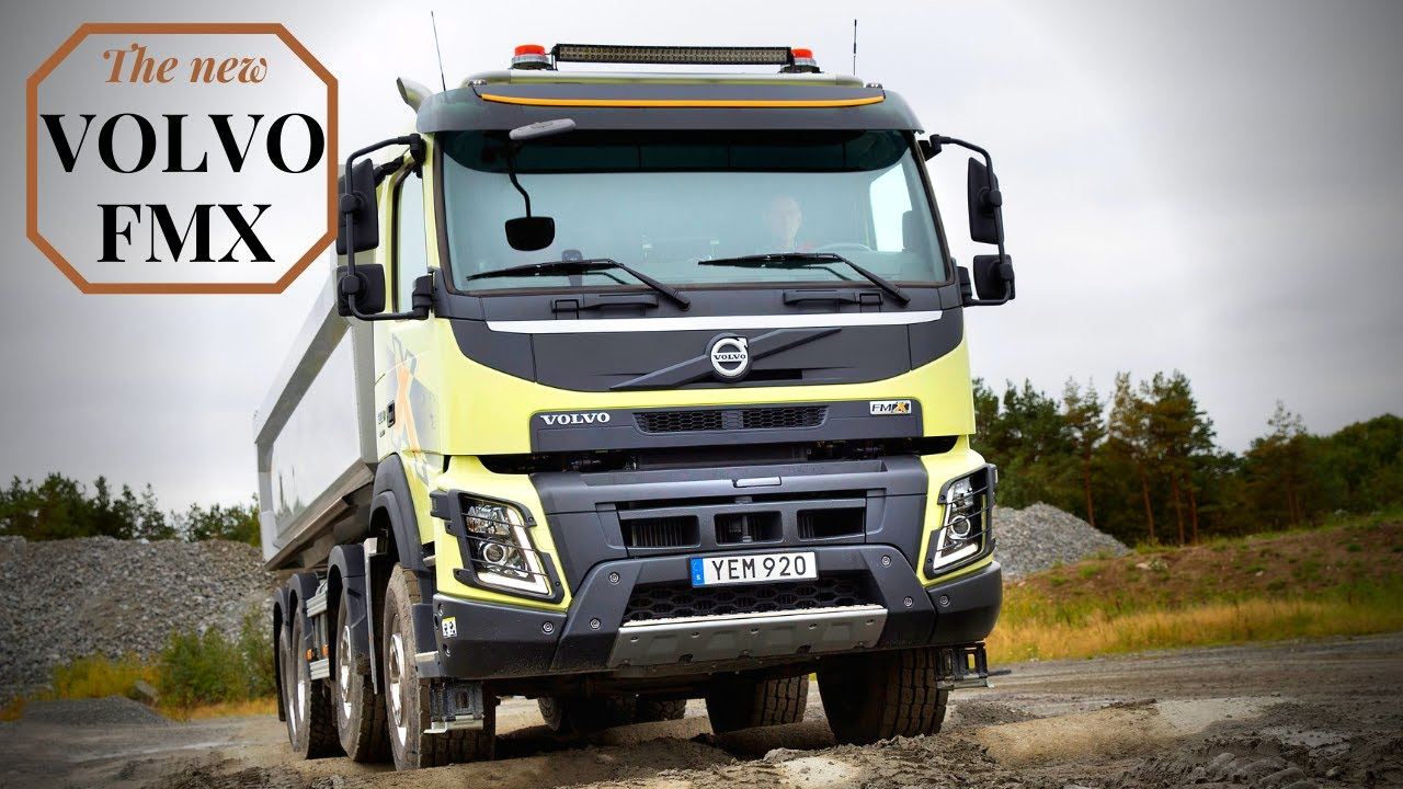 all new volvo fmx 2021 new features explain  youtube
