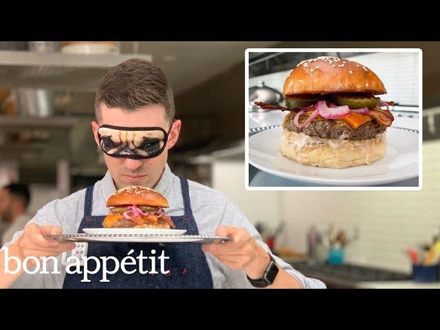 Recreating Jamie Olivers Insanity Burger From Taste | Bon Appétit