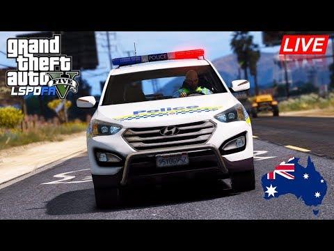 GTA 5 - LSPDFR Australia - TASPOL Hyundai Santa Fe Patrol