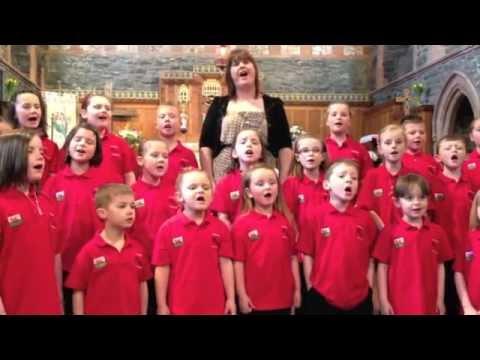 Lleisiau llanbabs Eglwys Llanberis Ebrill 2012