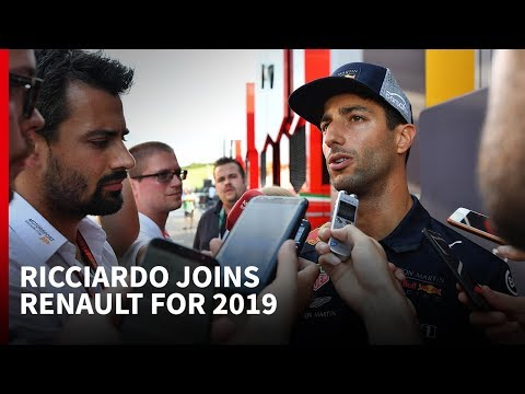 What's behind Daniel Ricciardo moving to Renault F1 in 2019?