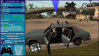 GTA San Andreas Any% Speedrun - Hugo_One Twitch Stream - 12/4/2018