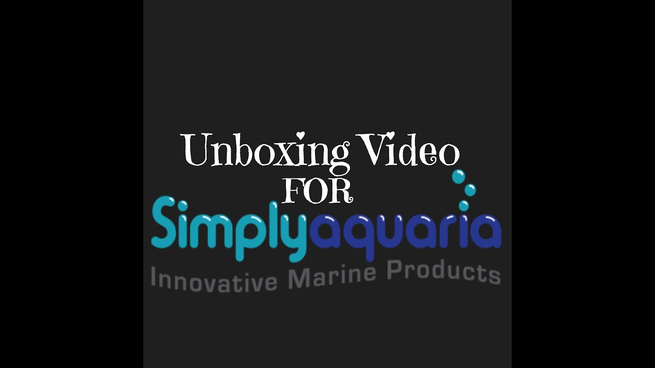 Unboxing For Simplyaquaria Youtube How To Wire An Stc1000 Temperature Controller With 2 Heaters Reefing