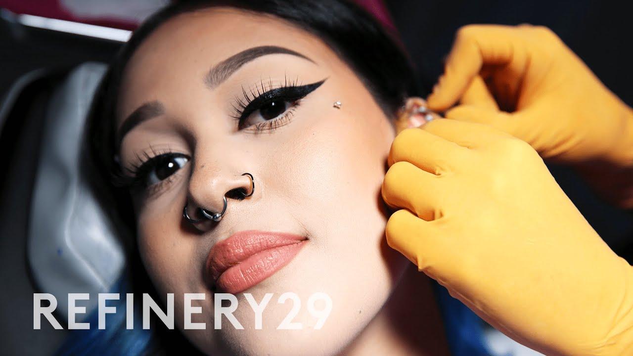 Getting My 20th Piercing, A Daith Piercing | Macro Beauty