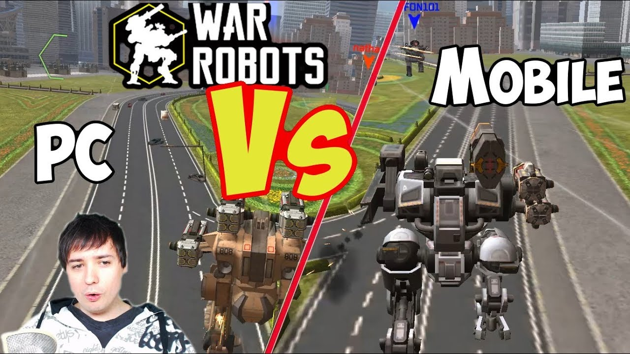 War Robots - Mobile Vs PC Gameroom - Which Platform? Starter Guide Tutorial