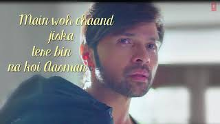 MAIN WOH CHAAND Lyrical Video  Himesh Reshammiya, Farah Karimaee  T Series HD, 720p