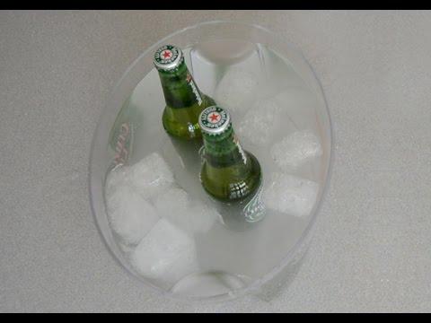 truco para enfriar cervezas en 5 minutos