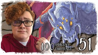 100 Dragons Challenge - 51 | Astrological Zodiac - Scorpio