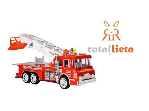 Rotaļu ugunsdzēsēju mašīna - Firedept 998
