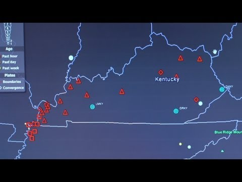 Kentucky Geological Survey Challenges the Seismic Hazard Map