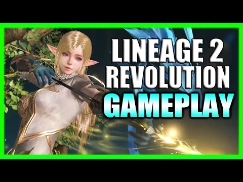 Lineage 2: Revolution First Impressions (English) Gameplay