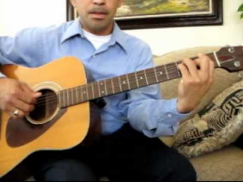 The Beatles Yesterday Chords and Rythm - YouTube