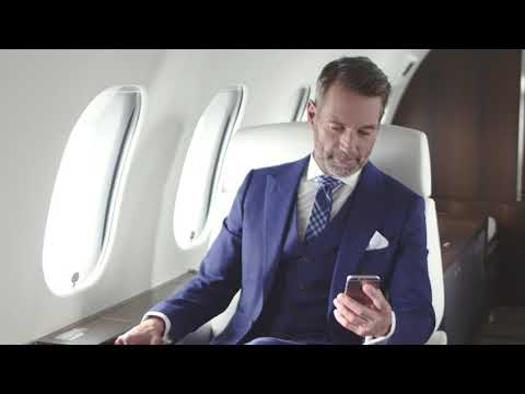 L'avion Global 6000 - machine de productivité