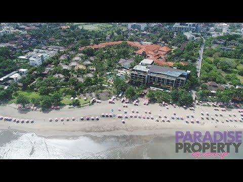 Royal Beach Seminyak Aerial Video by Paradise Property Group