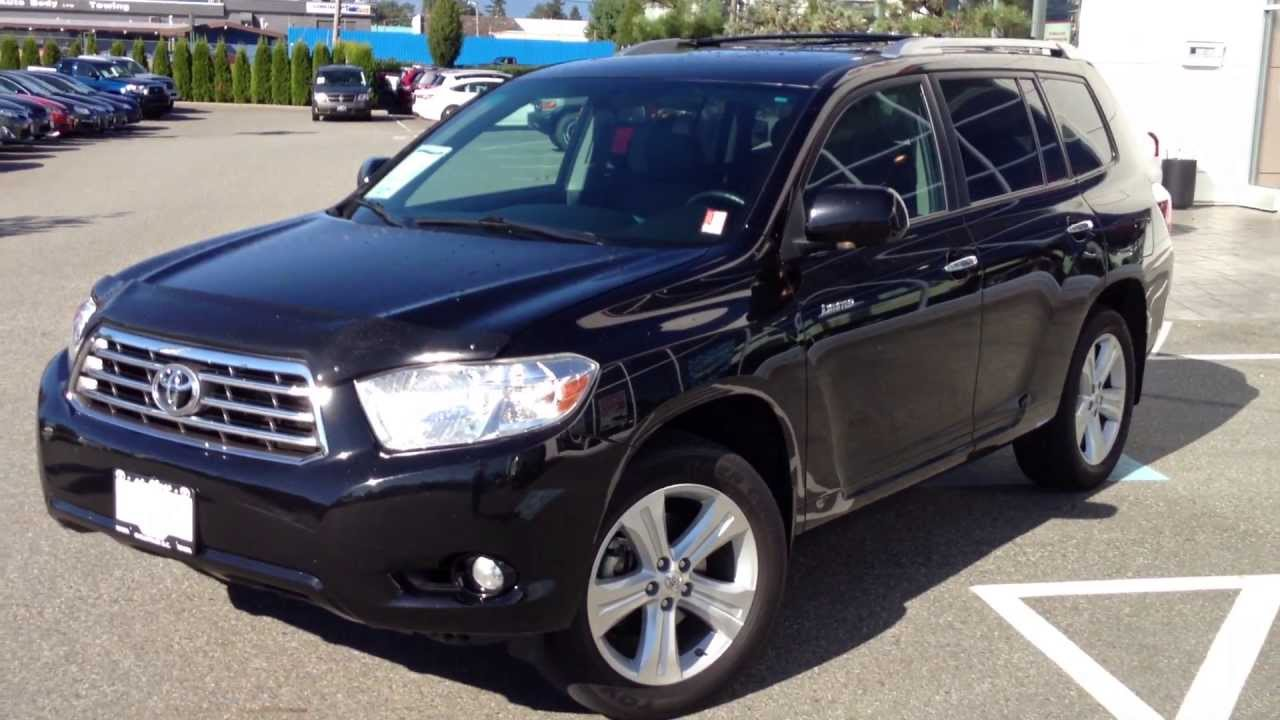 Sold 2010 Toyota Highlander Limited Preview For Sale At