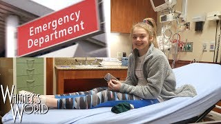 Clumsy Gymnast Winds Up in the Emergency Room | Whitney Bjerken