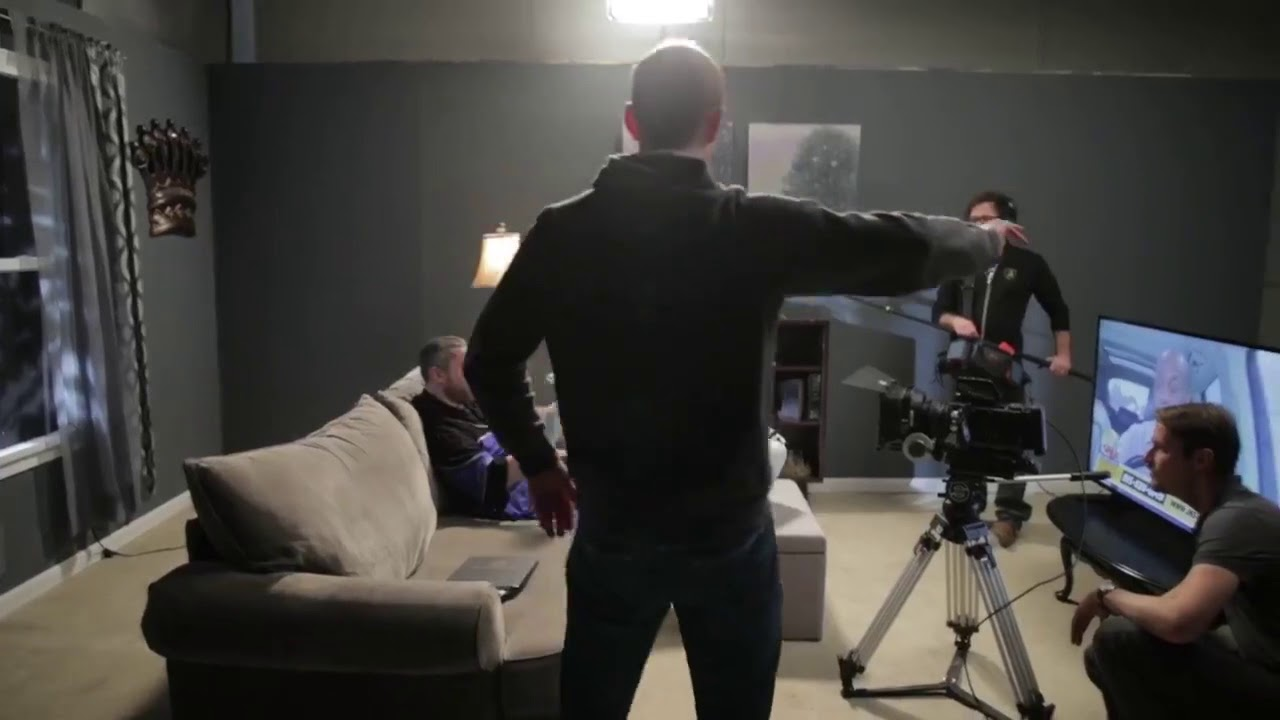 Insurance King filming with Dustin Diamond