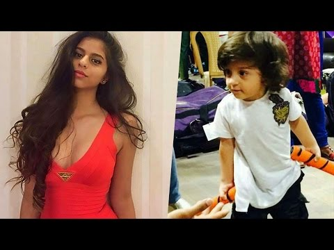 Shah Rukh Khan's kids Abram Khan and Suhana Khan | Richest kid in Bollywood