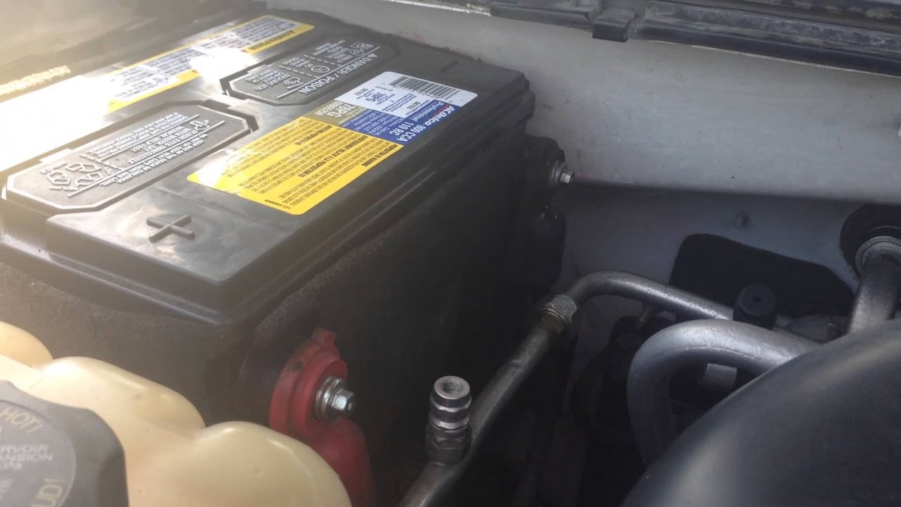 2006 Chevy Silverado Won T Start After Battery Change