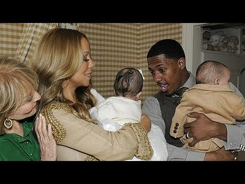 Mariah Carey and Nick Cannon Give a Sneak Peek of the Twins