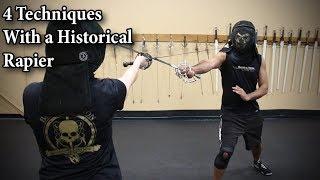 Video 4 Techniques with a Historical Rapier download MP3, 3GP, MP4, WEBM, AVI, FLV Juni 2018