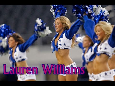 Dallas Cowboys Cheerleader Lauren Williams Youtube