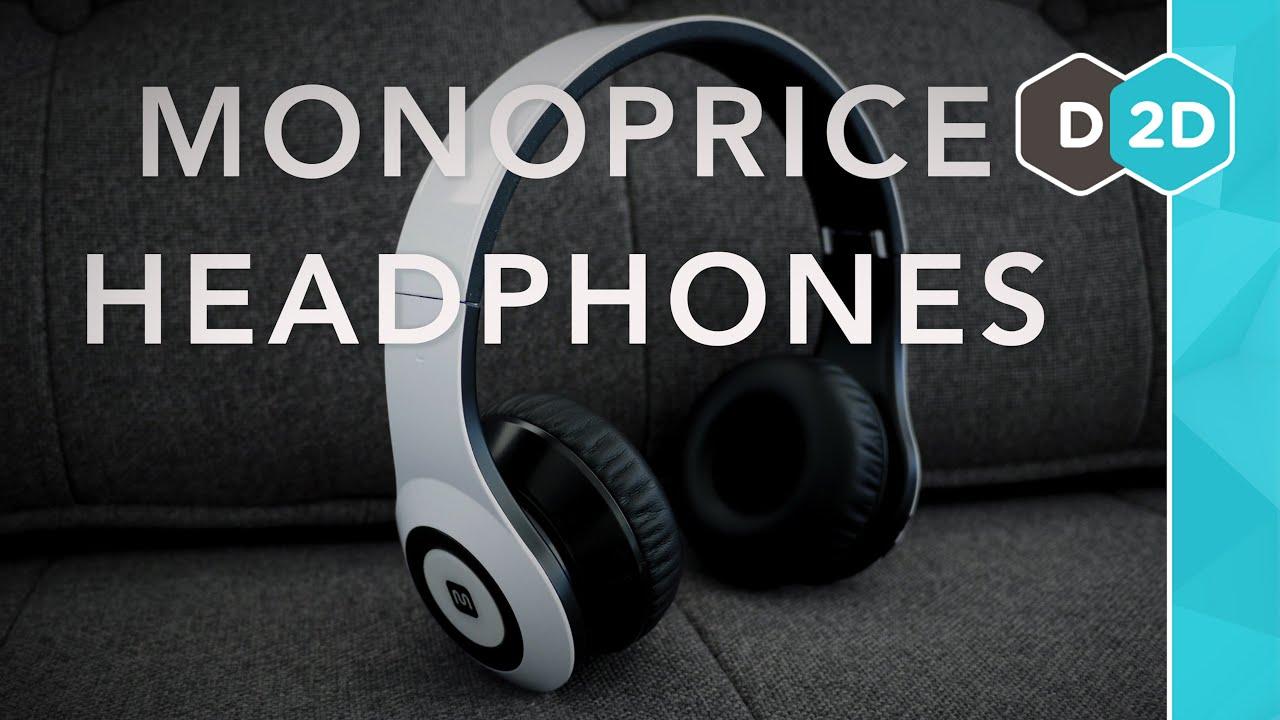 2015 Monoprice Wireless Headphones Review