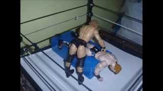 (HWF) Animation #30 Knee Trembler with An Elbow Drop