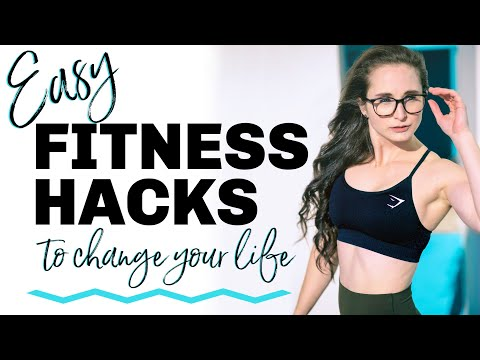 5 EASY HEALTHY HACKS to Get Fit, Lose Fat, & Be Healthy