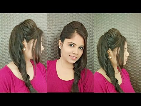 Stylish Ponytail Hairstyle With Puff How To Create Perfect Puff In