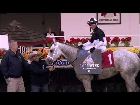 John Velazquez's 6000th Win